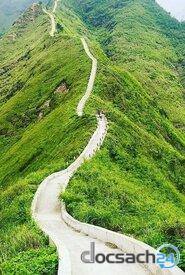 Núi xanh can đảm