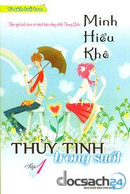 Thủy tinh trong suốt.